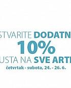 Jysk webshop akcija dodatnih 10% na sve do 26.06.