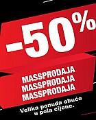 Mass webshop akcija Massprodaja 50% popusta