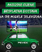 Pevex webshop akcija Televizori + besplatna dostava