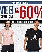 Sport Vision webshop akcija Web rasprodaja do 60% popusta