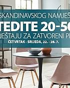 Jysk webshop akcija Dani skandinavskog namještaja do 28.07.