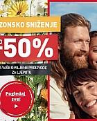 Yves Rocher webshop akcija Sezonsko sniženje do 50%