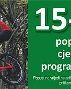 Alles webshop akcija do 25 posto na bicikle