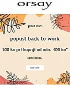Orsay webshop akcija 100 kn popusta samo 29.08.2021.