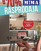 Mima namještaj katalog Rasprodaja kolovoz 2021