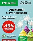 Pevex katalog Vinkovci rođendan do 4.9.