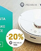 Pevex webshop akcija 20% na robotske usisavače