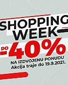 Sport Vision webshop akcija Shopping Week do 19.09
