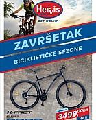 Hervis katalog Završetak biciklističke sezone