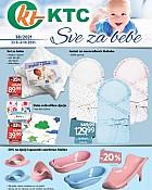 KTC katalog Sve za bebe do 6.10.