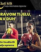 Žuti klik webshop akcija Fitness oprema i sprave