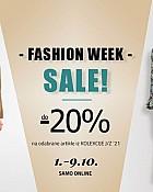 Diadema webshop akcija Fashion week do 09.10.