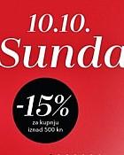 Douglas webshop akcija E-Sunday 10.10.