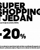 Ferivi Sport webshop akcija Super shopping tjedan do 05.10.