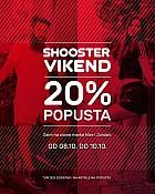 Shooster webshop akcija za vikend do 10.10.