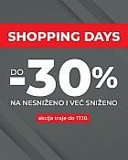 Sport Vision webshop akcija Shopping days do 17.10.