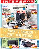 Interspar katalog Igračke multimedija 2021