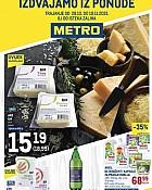 Metro katalog prehrana do 10.11.